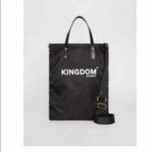 Kingdom Print Nylon Tote